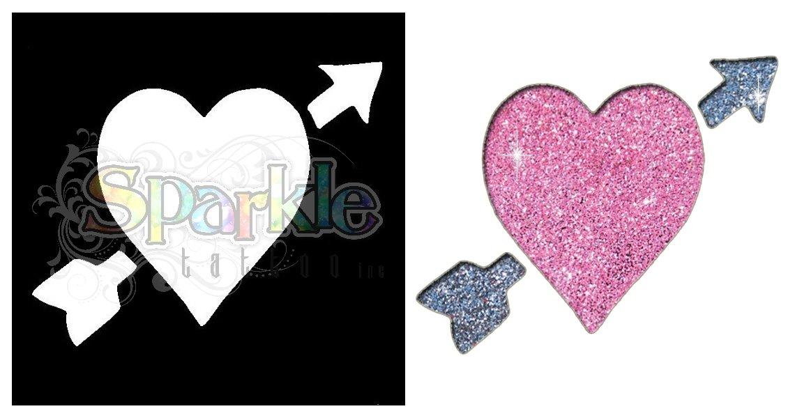 Heart & Arrow Stencil