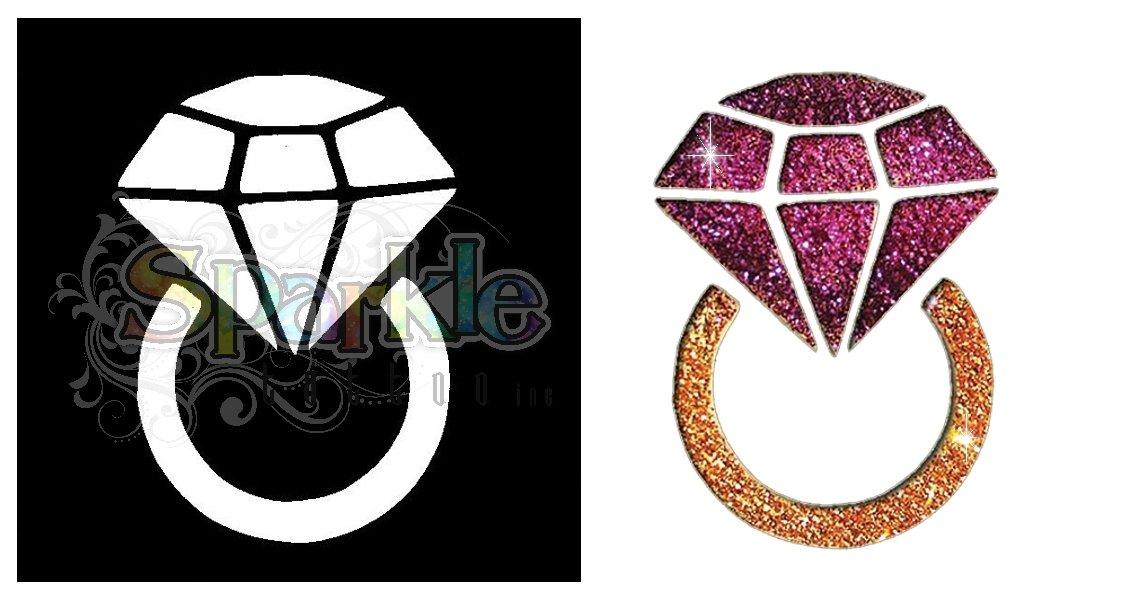 Diamond Ring Stencil