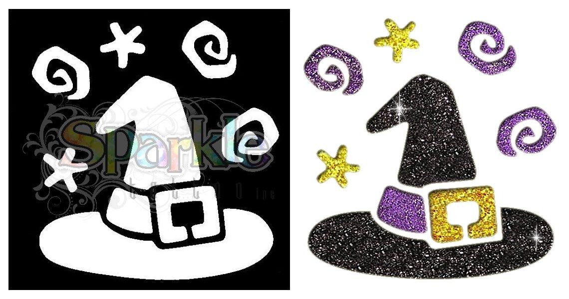 Witch Hat Stencil