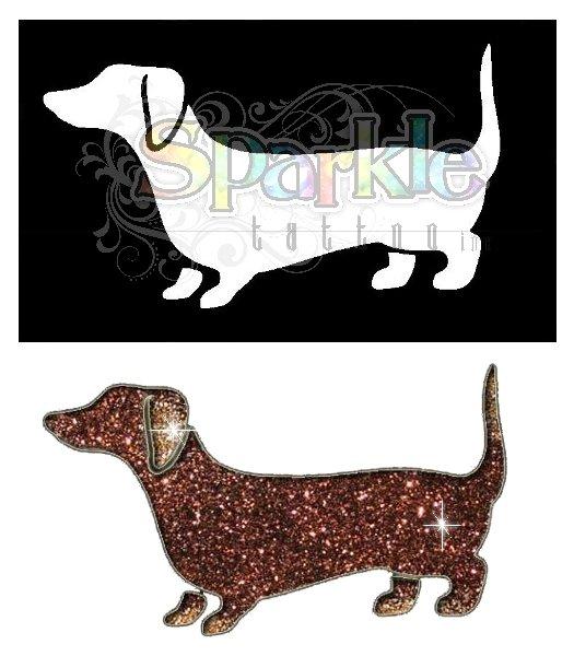 Weiner Dog Stencil