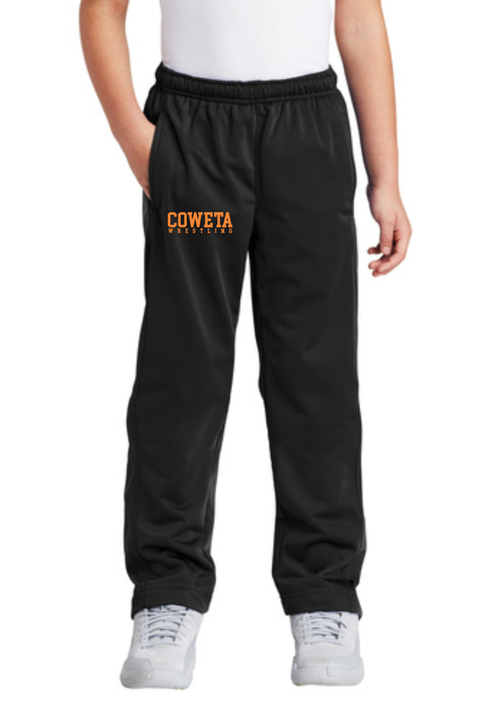 CowetaYouthWrestling - Sport-Tek® Youth Tricot Track Pant