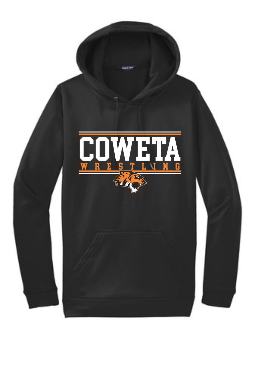 CowetaYouthWrestling - Sport-Tek® Sport-Wick® Fleece Hooded Pullover