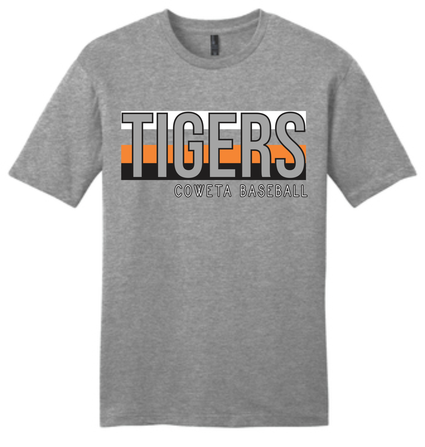 """DT6000 District Very Important Tee  """"TIGERS"""" -  CowetaHSBaseball2020"""
