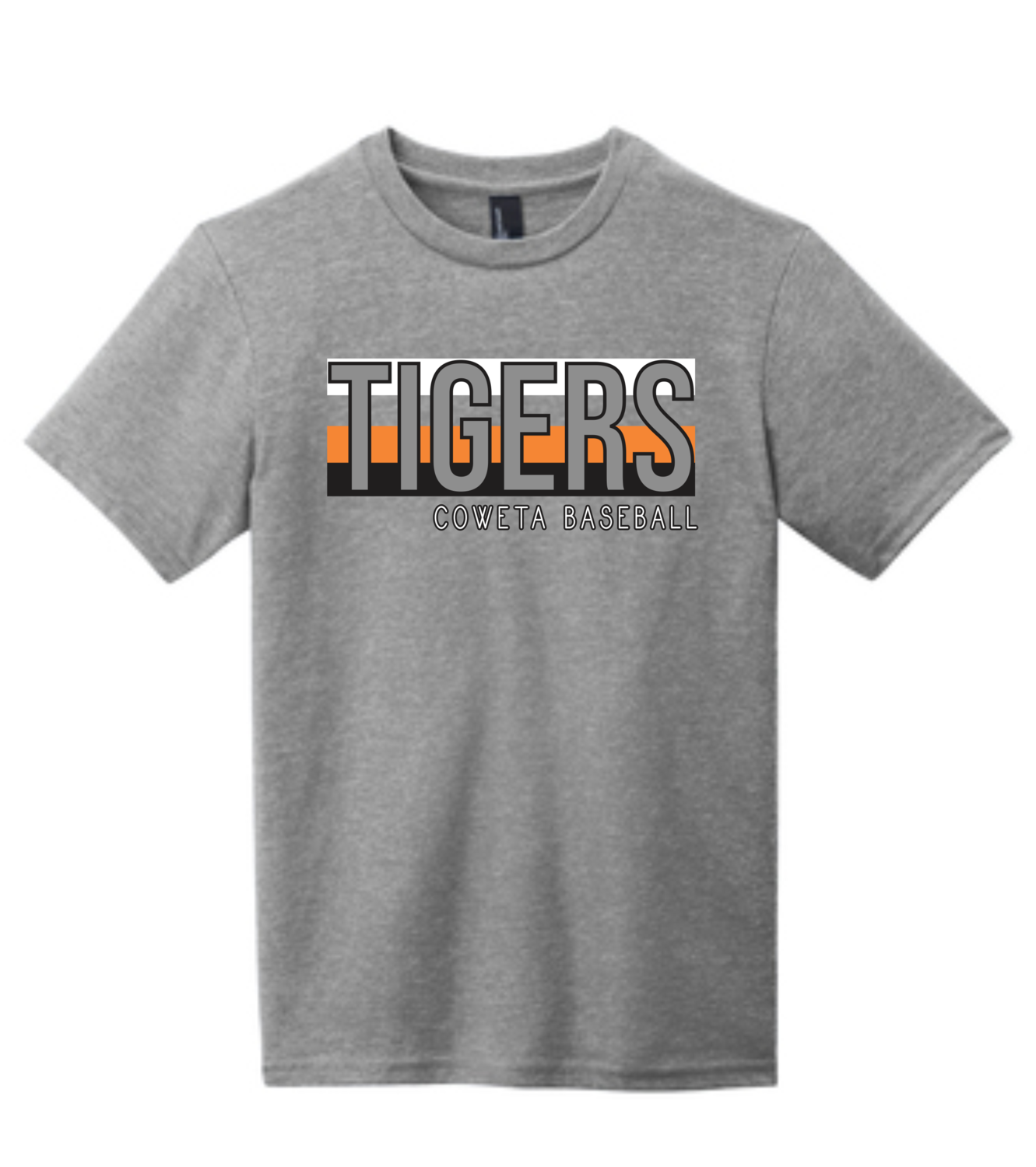 """DT6000Y District YOUTH Very Important Tee """"TIGERS"""" - CowetaHSBaseball2020"""