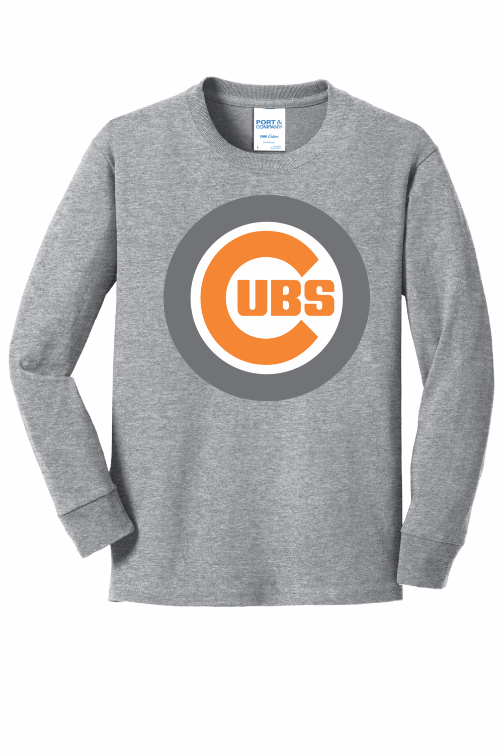 PC54YLS Port & Company® Youth Long Sleeve Core Cotton Tee