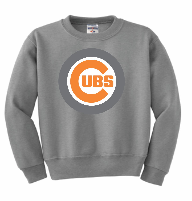 562B  JERZEES® - YOUTH NuBlend® Crewneck Sweatshirt