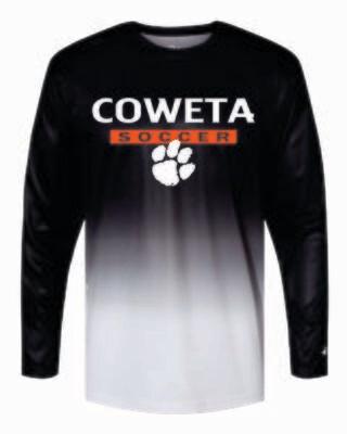 Badger - Ombre LONG SLEEVE T-Shirt - 4204