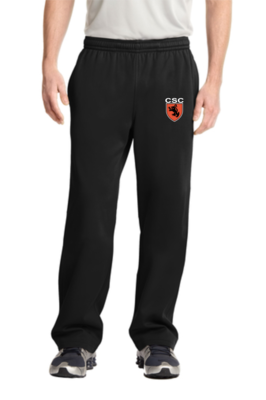 Sport-Tek® Sport-Wick® Fleece Pant - (Open Leg) Adult/Youth