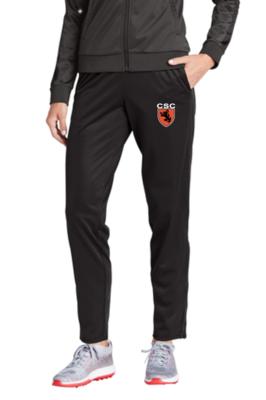 Sport-Tek ® Ladies Tricot Track Jogger (Leg Zipper)