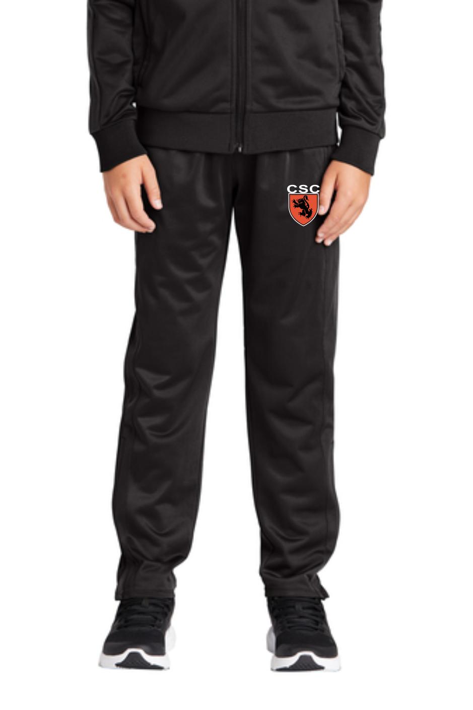 Sport-Tek ® Youth Tricot Track Jogger (Leg Zipper)