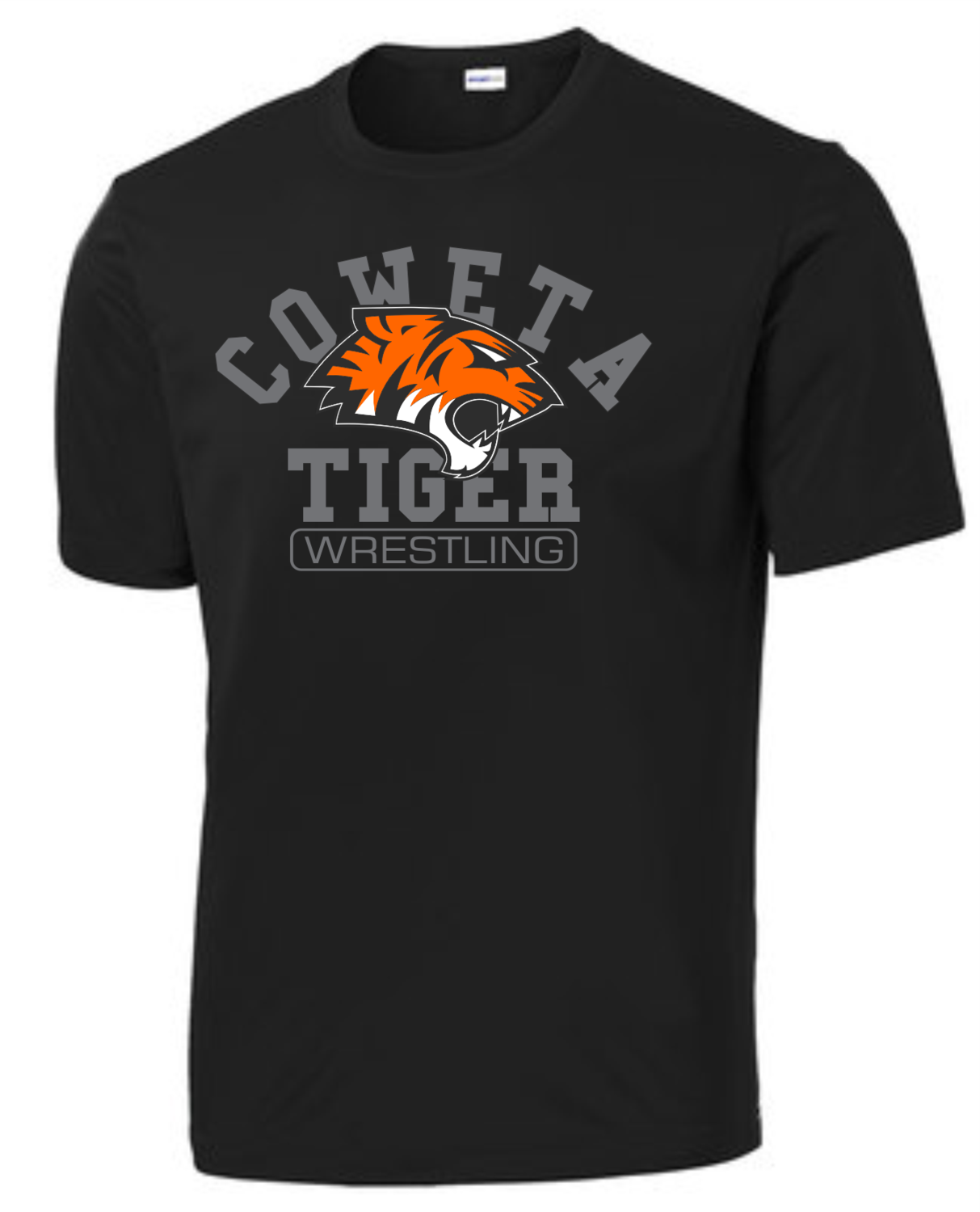 Sport-Tek® PosiCharge® Competitor™ Tee - Adult/Youth.  *TEAM GEAR SHIRT* Wrestlers will receive a drifit with this logo