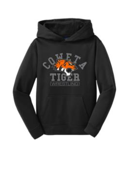 Sport-Tek® Youth Sport-Wick® Fleece Hooded