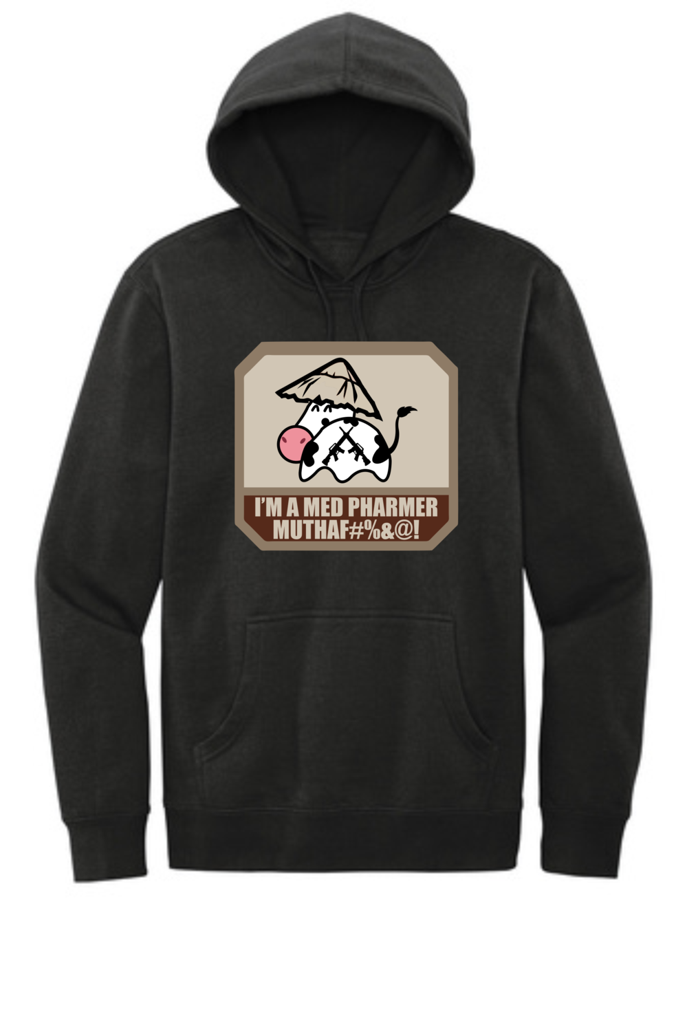 District® V.I.T.™ Fleece Hoodie - Med Pharmer Logo