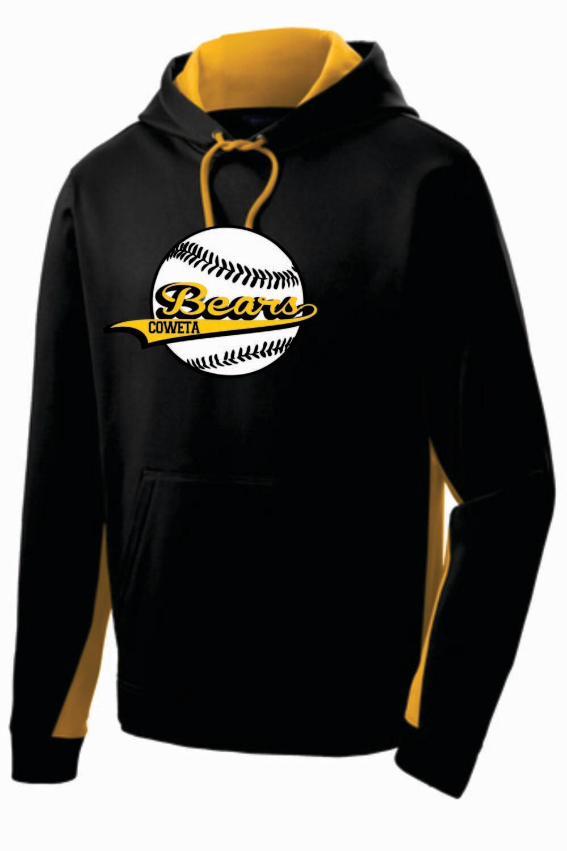 ST235 - Sport-Tek® Sport-Wick® Fleece Colorblock Hooded Pullover