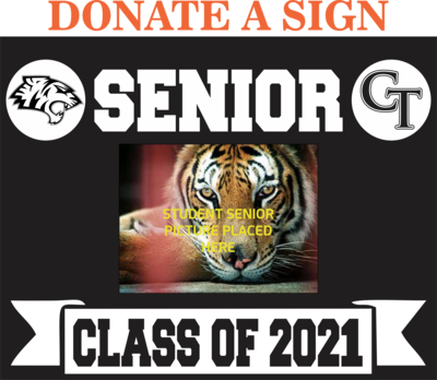 DONATE Senior Yard Sign