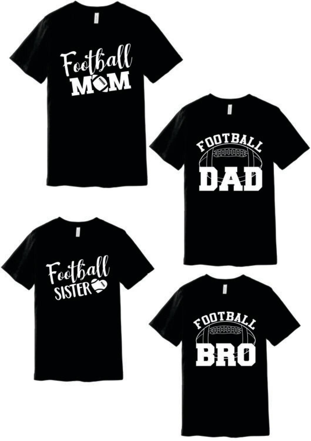 """""""PERSONALIZED FOOTBALL"""" ~ BC3001 - BELLA+CANVAS ® Unisex Jersey Short Sleeve Tee"""