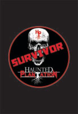 "HAUNTED PLANTATION ~ ""SURVIVOR"" Stickers [Opt 3]"