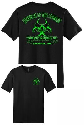 ZOMBIE RAMPAGE ~ DT6000 - District ® Very Important TEE ®