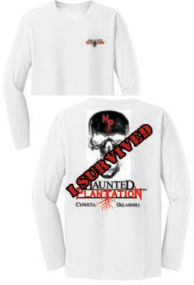 HAUNTED PLANTATION ~ DT6200 - District ® Very Important Tee ® LONG SLEEVE