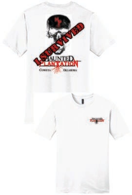 HAUNTED PLANTATION ~ DT6000 - District ® Very Important TEE ®