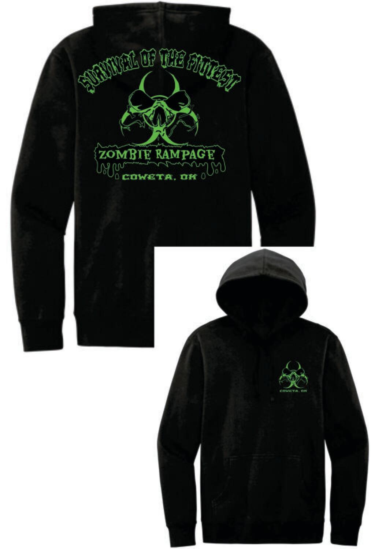 ZOMBIE RAMPAGE ~ DT6100 - District® V.I.T.™ Fleece HOODIE