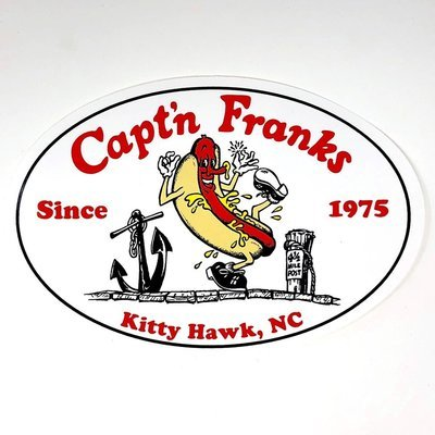 Capt'n Franks Sticker