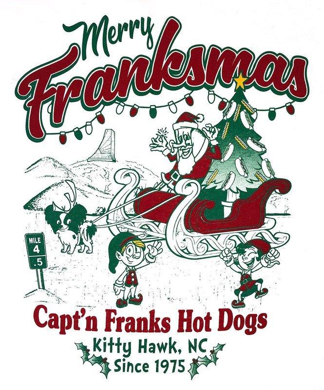 Merry Franksmas - Long Sleeve T-Shirt