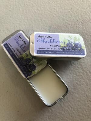 Blackberry Sage Solid Perfume