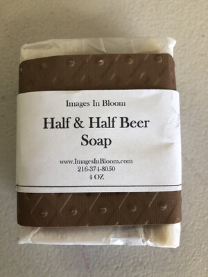 Half and Half Beer Soap
