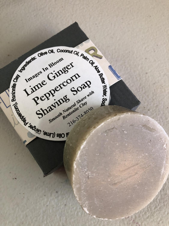 Lime Ginger Peppercorn Shaving Soap