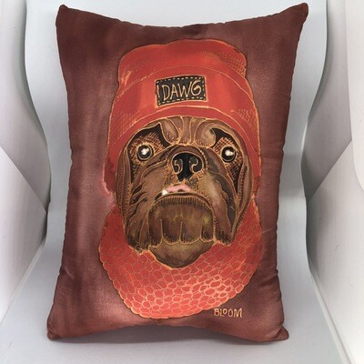 Pup Loves The Browns Accent Pillow