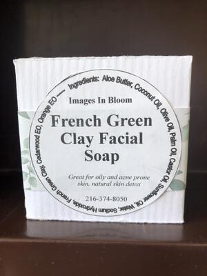 French Green Clay Facial Bar