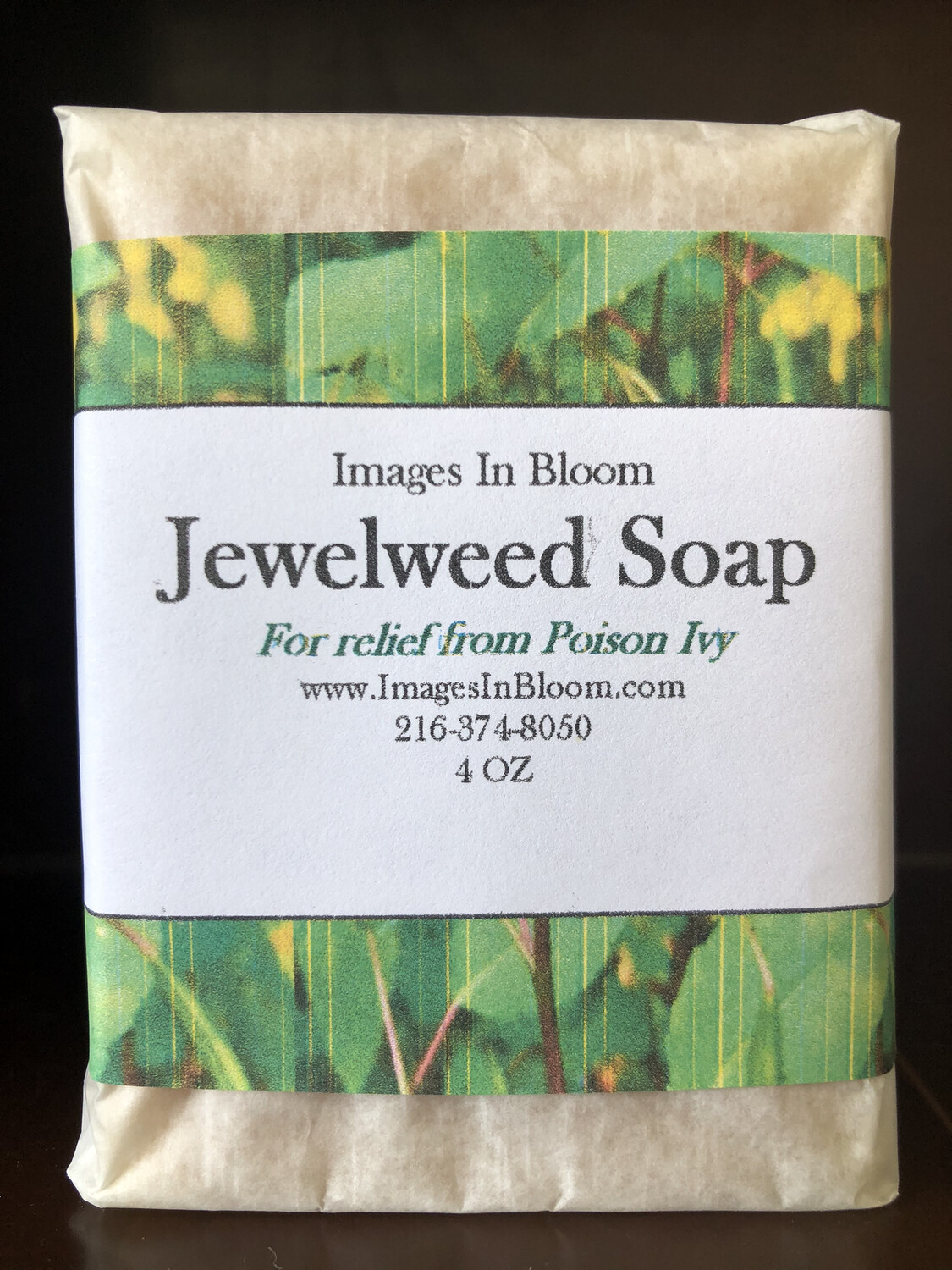 Jewelweed Soap (for Poison Ivy)