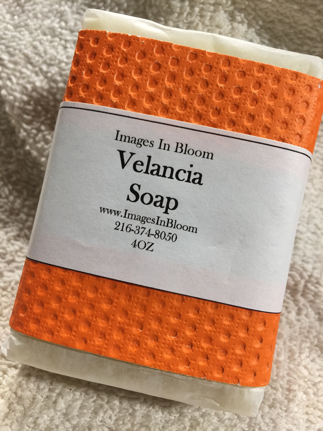Valencia Soap -**back By Popular Demand