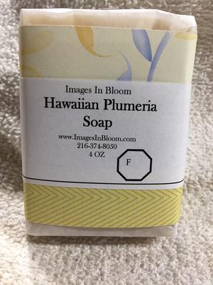 Hawaiian Plumeria Soap