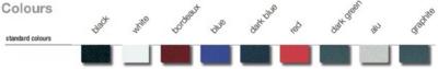 CLEARANCE SPECIAL Blue (light) Steel Matt Binding Covers