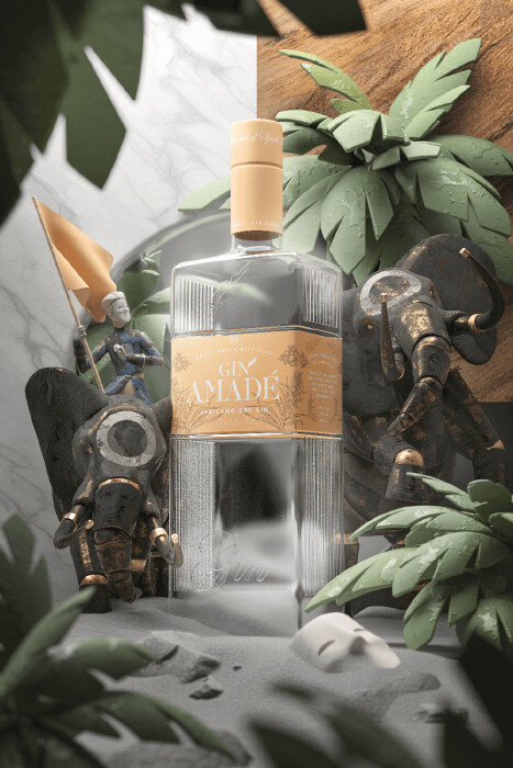 Gin Amade' Africano 0,7lt.