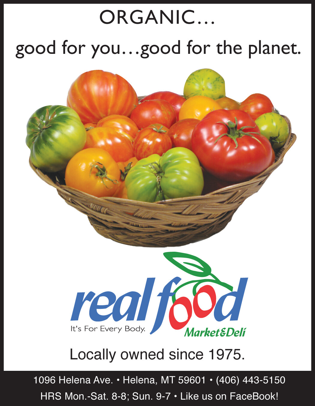 1/4 Page Ad Organic Matters -  Quarterly Newsletter