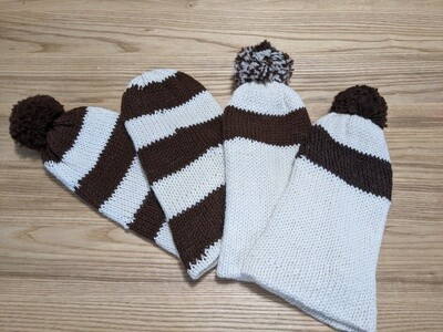 Slouchy Toque striped