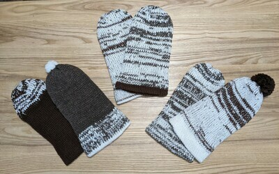 Slouchy Toque variegated