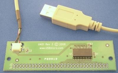 USBmicro U401 Versatile I/O