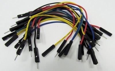 Jumper wires, 100mm F-F, M-M