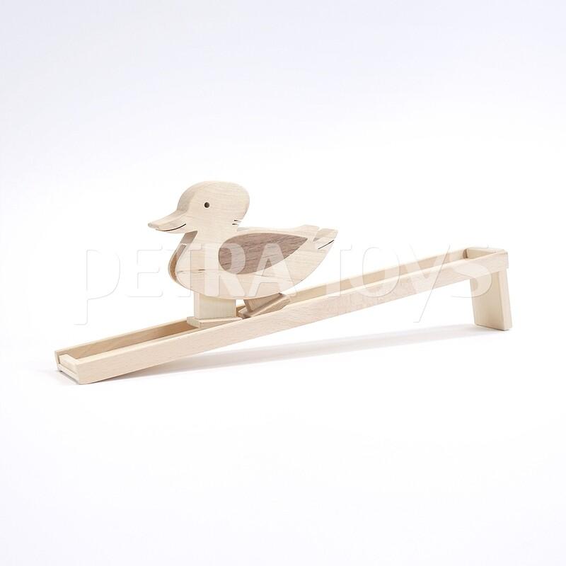 Duck Wooden Ramp Walker - Natural