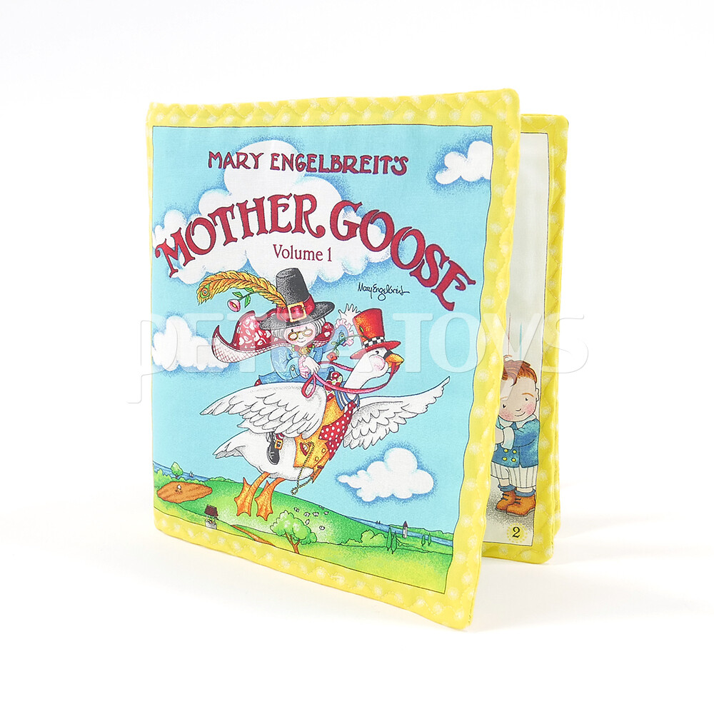 Mother Goose Rhymes Fabric Book