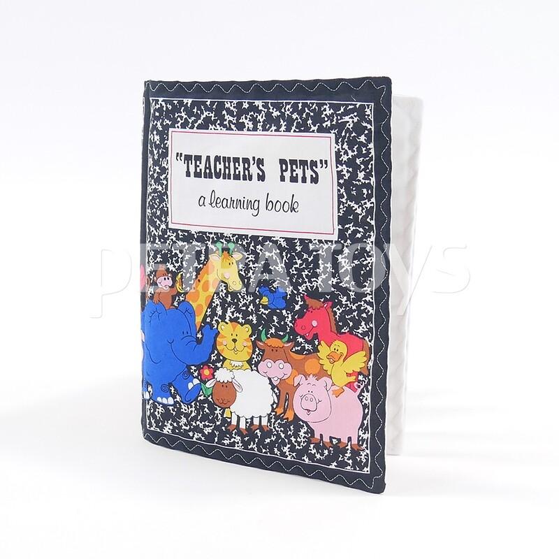 Teacher's Pets Fabric Book