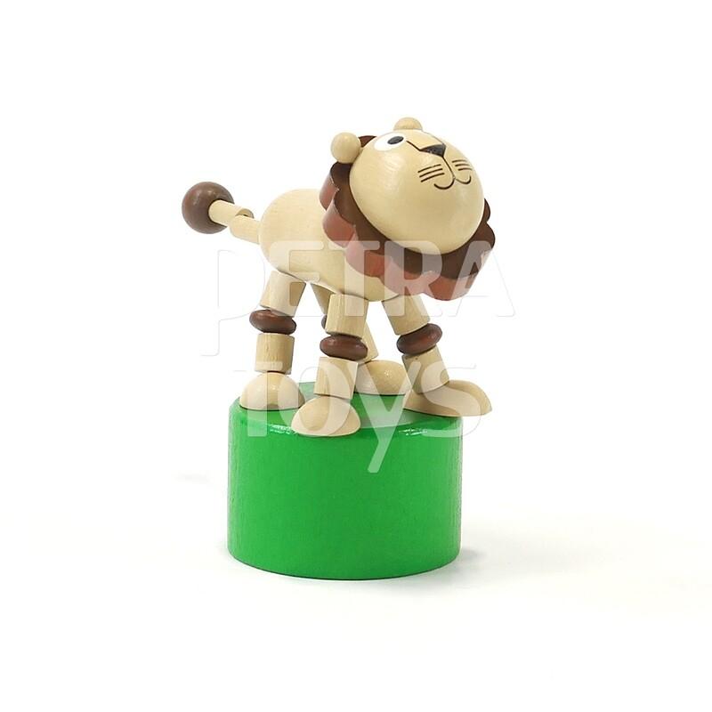 Dancing Lion Press Puppet