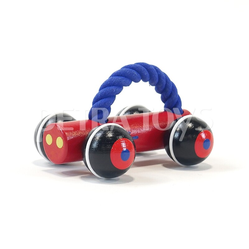 Race Car Push Toy - Red