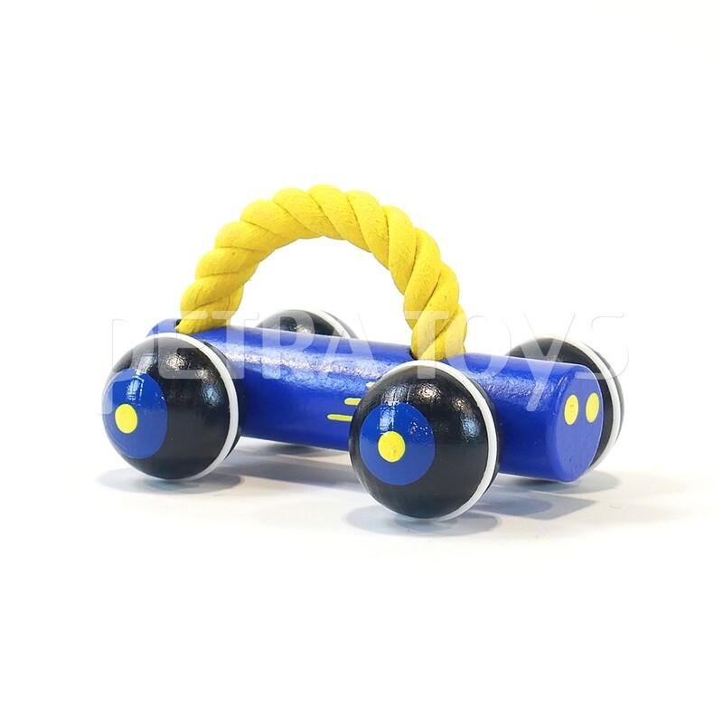 Race Car Push Toy - Blue