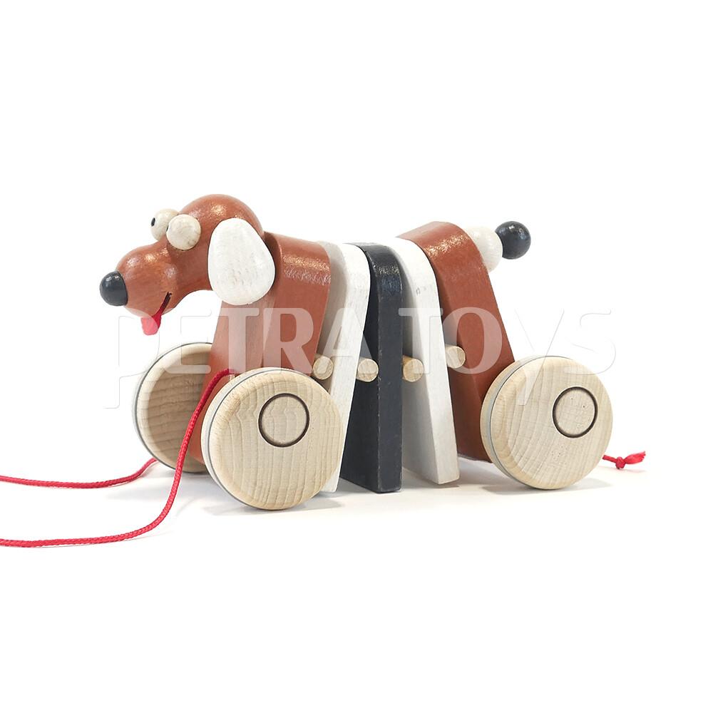 Rocking Dog Pull-Along Toy