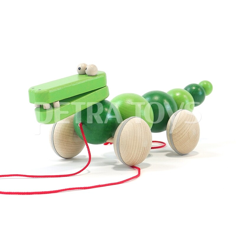 Wiggling Alligator Pull-Along Toy